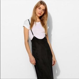 NWT Silence & Noise Suspender Maxi Dress Large
